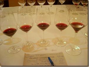 flight of wines