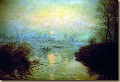 monet sunset