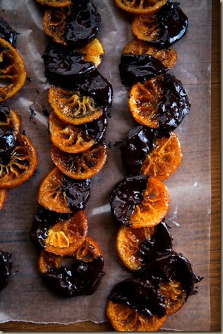 candied tangerines