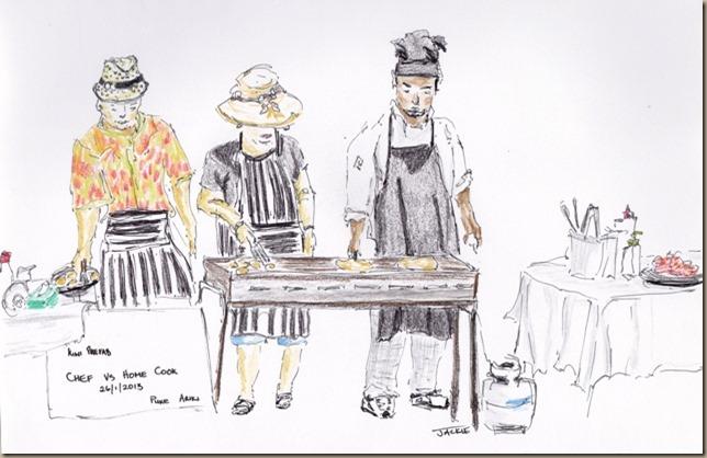 Chef vs Home Cook