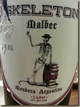skeleton malbec