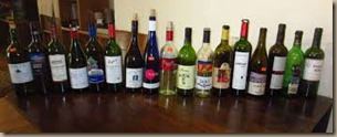 multiple bottles