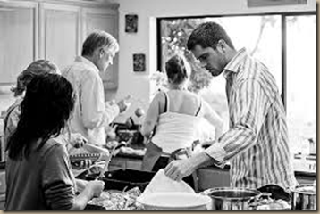 thanksgiving in the kitchen