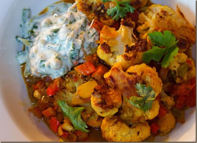 cauliflower-raita