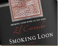 smoking loon malbec