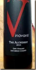 vinavanti the alchemist