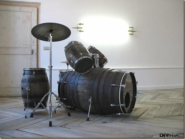 wine cask drum set