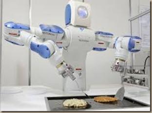 robot chefs