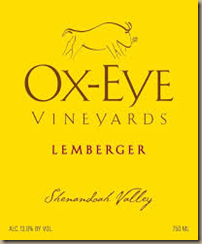 ox eye lemberger