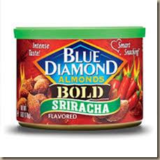 sriracha almonds