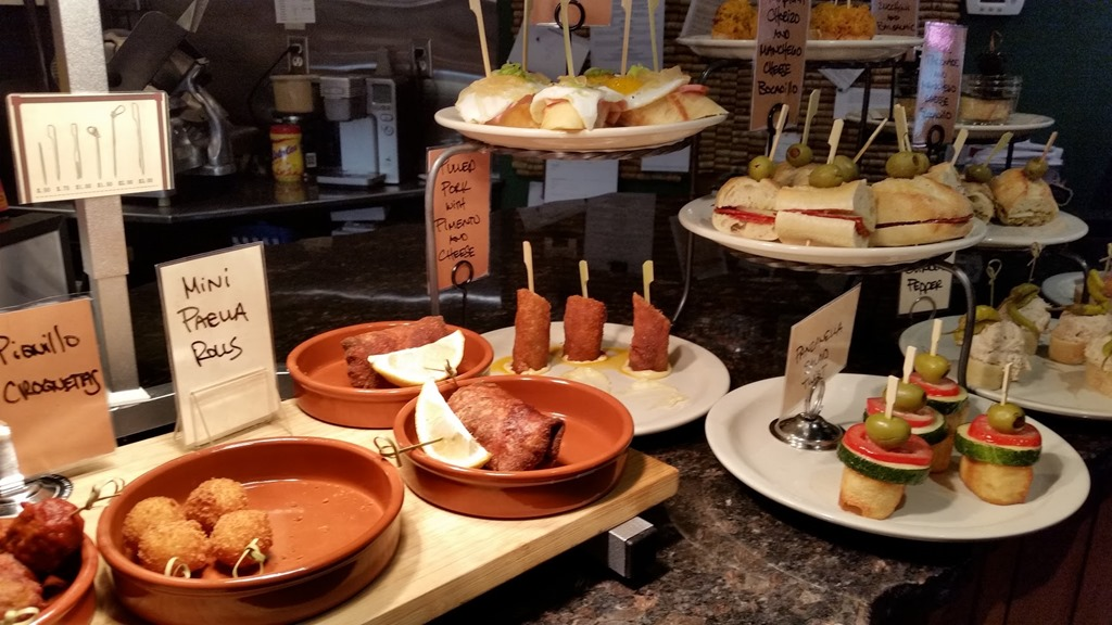 But the best overall Basque food experience can be found at the Basque  market for Wednesday or Friday lunch. At 11 00 they put various pintxos on  ... 26fb81f2f