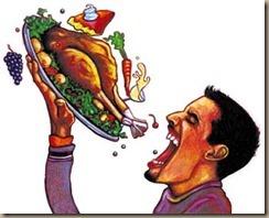 thanksgiving gluttony