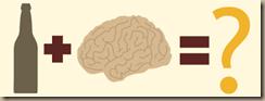 alcohol on brain
