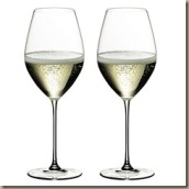 riedels veritas sparkling wine glass