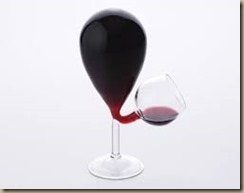 weird wine glass