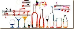 wine and music