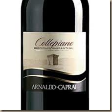 arnold caprai sagrantino