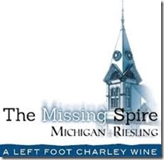 Left Foot Charley Missing Spire Riesling Michigan 2018
