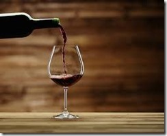 wine pouring