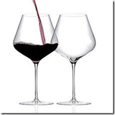 a glass of pinot