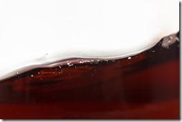 Texture of wine