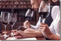 studying wine