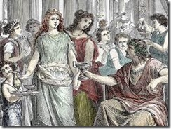 romans and wine