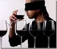 blindfold tasting